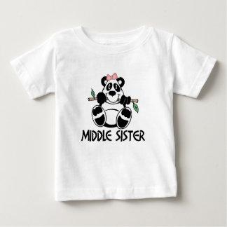Panda Girl Middle Sister Baby T-Shirt