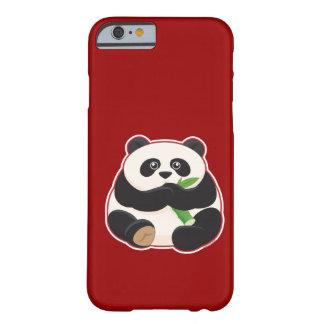 Panda gorda funda para iPhone 6 barely there