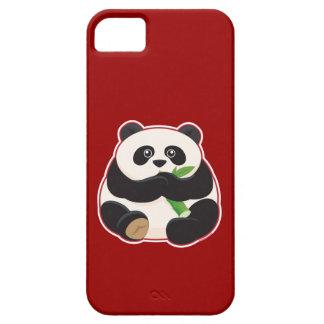 Panda gorda iPhone 5 funda