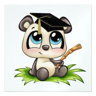 Panda Graduation - SRF Personalized Invitation