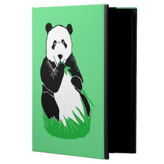 Panda Green iPad Case