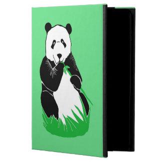 Panda Green iPad Case