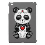 Panda gris del azúcar del zombi iPad mini carcasas