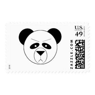 Panda gruñona franqueo