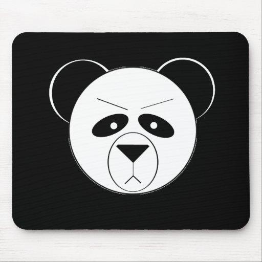 Panda gruñona tapetes de raton