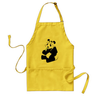 Panda Hat Adult Apron