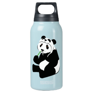 Panda Hat Insulated Water Bottle