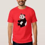 Panda Hat T Shirt