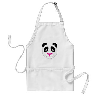 Panda Head Adult Apron