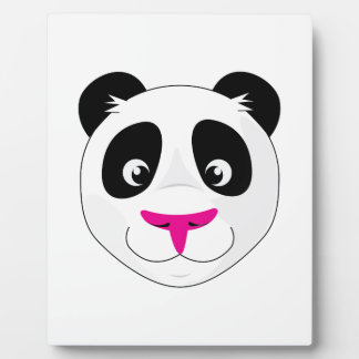 Panda Head Display Plaque