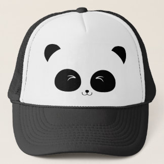 panda head shots trucker hat