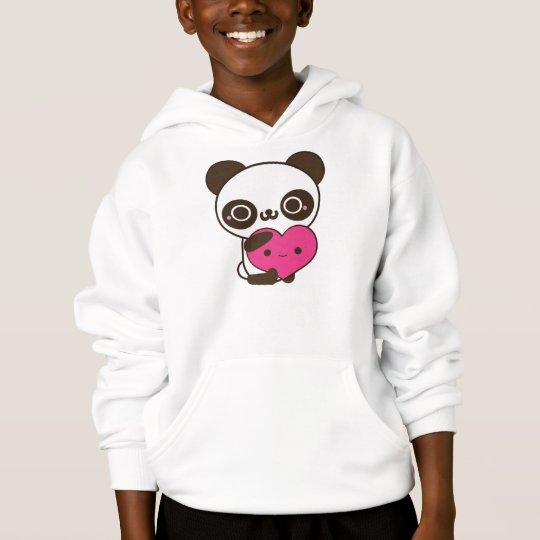 Panda Heart Hoodie