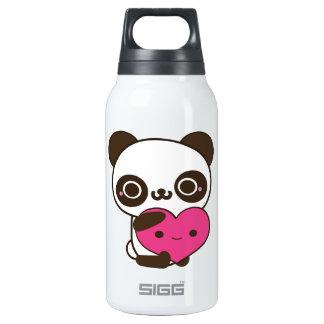 Panda Heart Thermos Water Bottle