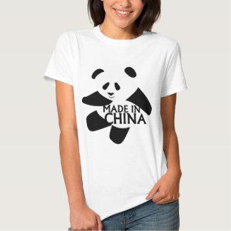 Panda, hecha en China Poleras