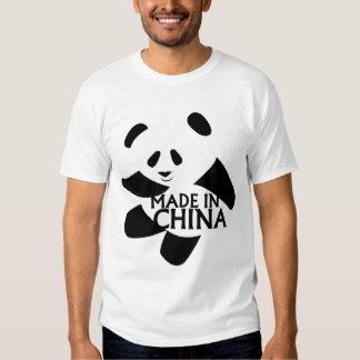 Panda, hecha en China Remeras