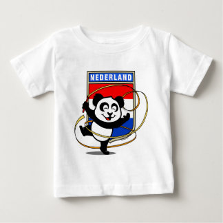 Panda holandesa de la gimnasia rítmica poleras