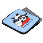 Panda holandesa del voleibol manga computadora