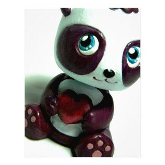 Panda Hug I Letterhead