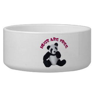 Panda hug Pet Bowl (2) sizes