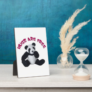 Panda hug Plaque (3) sizes