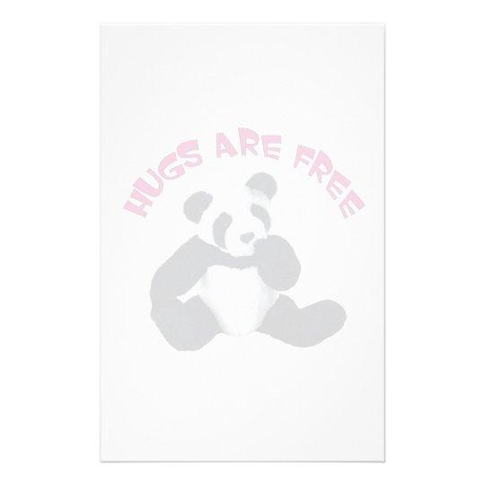 Panda hug Stationery