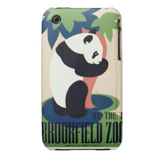Panda Hugging a Tree Blackberry Curve Case-Mate Ca iPhone 3 Case