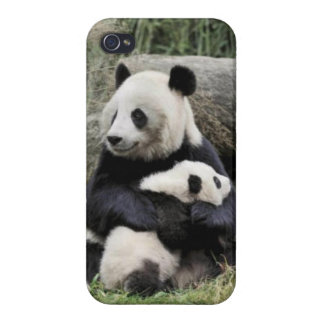 Panda Hugs Case For iPhone 4
