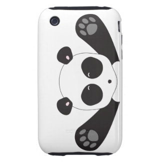 Panda Hugs iPhone 3 Tough Cases
