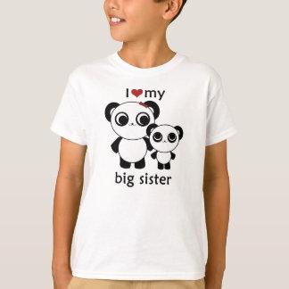 Panda - I love my big sister T-Shirt