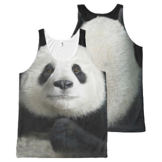 Panda image for All-Over-Printed-Unisex-Vest All-Over-Print Tank Top