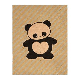 Panda Impresiones En Corcho