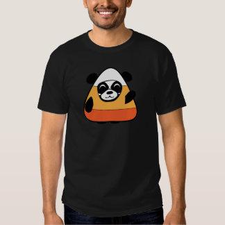 Panda in Candy Corn Costume T-Shirt