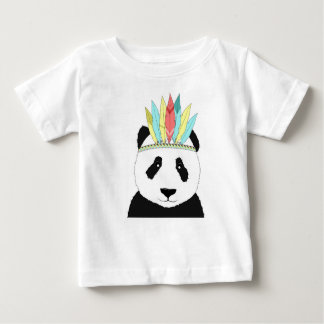 Panda in style baby T-Shirt