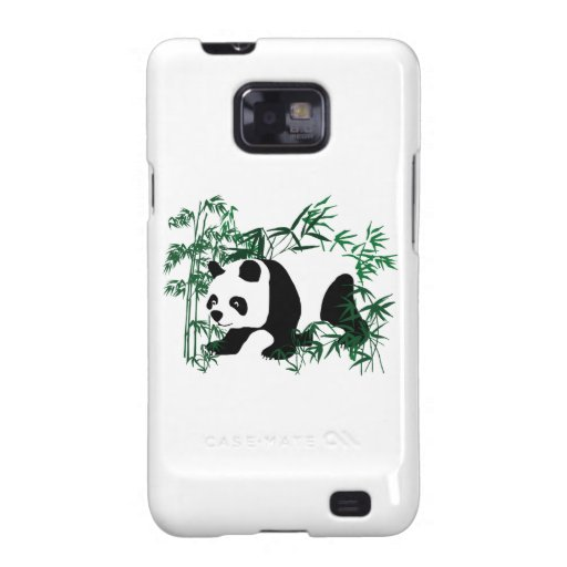 Panda in the Bamboo Forest Galaxy S2 Case