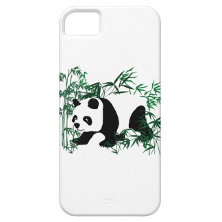 Panda in the Bamboo Forest iPhone SE/5/5s Case