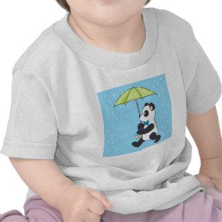 Panda In the Rain Tshirts