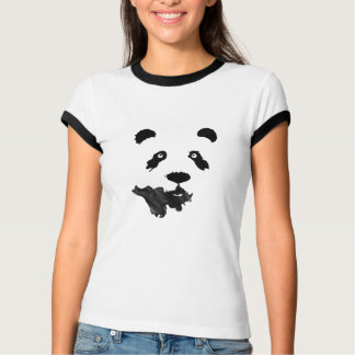 Panda Ink Drawing T-shirt