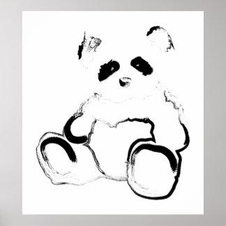 panda ink poster