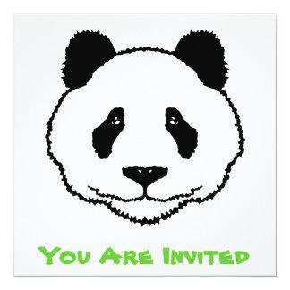 Panda Invitation / Card