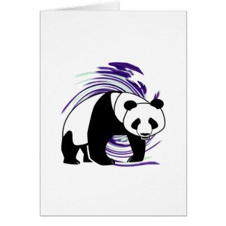 PANDA IS AMAZING GREETING CARD
