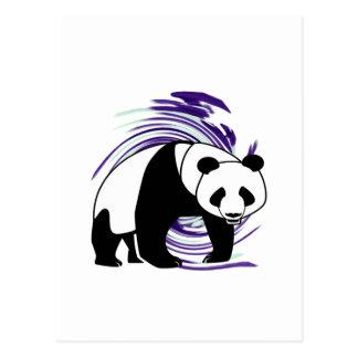 PANDA IS AMAZING POSTCARD
