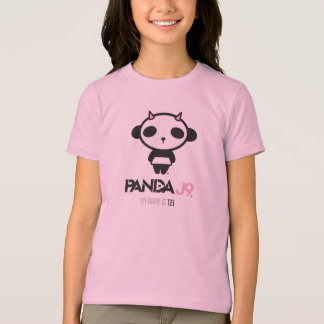 PANDA J9 Apparel-Kid's Graphic Tee / PNK / Tei