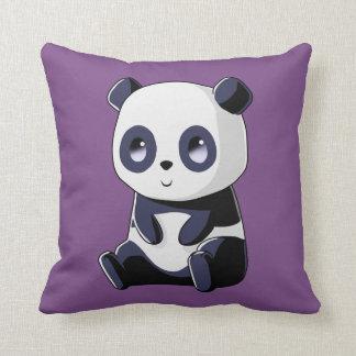 Panda Kawaii Throw Pillow