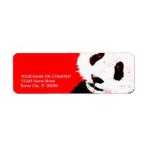 panda. label