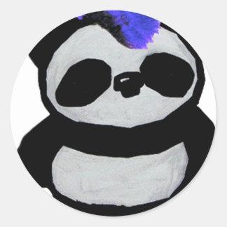 Panda Large 2010 Edition Classic Round Sticker