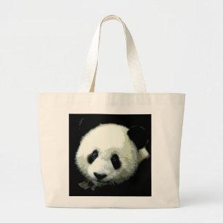 Panda Large Tote Bag
