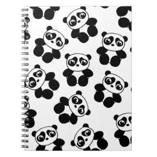 Panda Libros De Apuntes Con Espiral