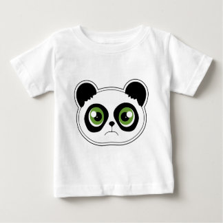 Panda linda con actitud - panda triste poleras