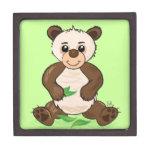 Panda linda de Kawaii Caja De Regalo De Calidad