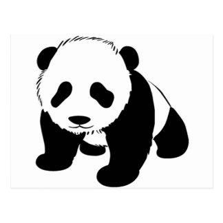 Panda linda del bebé tarjeta postal